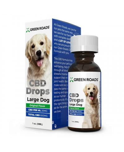 Pet CBD Drops 600mg for Large Dog