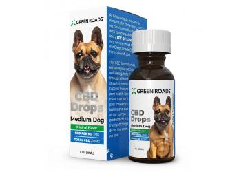Pet CBD Drops 210mg for Medium Dog