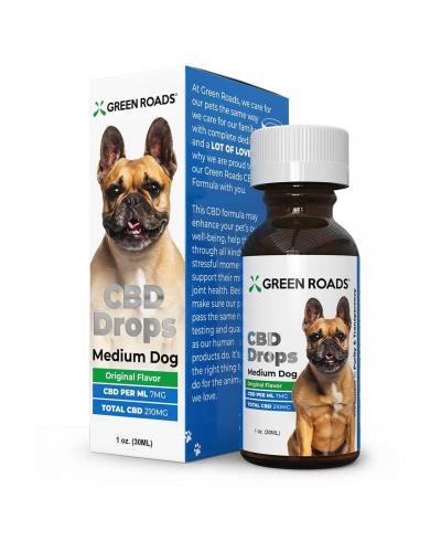 Pet CBD Drops 210mg for Medium Dog