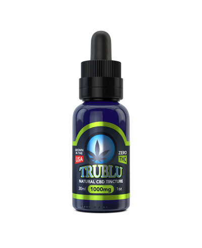 TruBlu CBD Natural – 1000mg Tincture