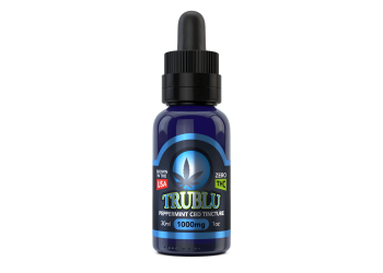 TruBlu CBD Peppermint –1000mg Tincture