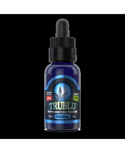 TruBlu CBD Peppermint –1000mg Tincture