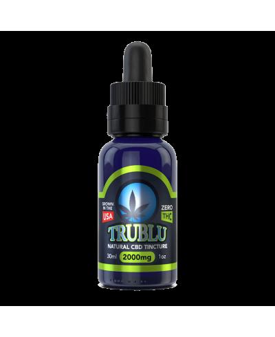 TruBlu CBD Natural – 2000mg Tincture