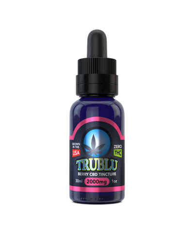 TruBlu CBD Berry – 2000mg Tincture
