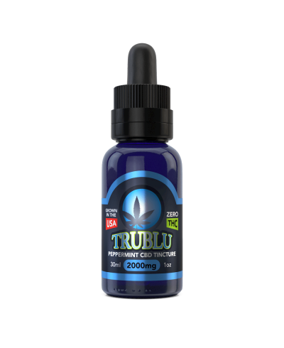 TruBlu CBD Peppermint – 2000mg Tincture