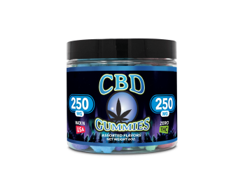 CBD Gummies – 6oz 250mg