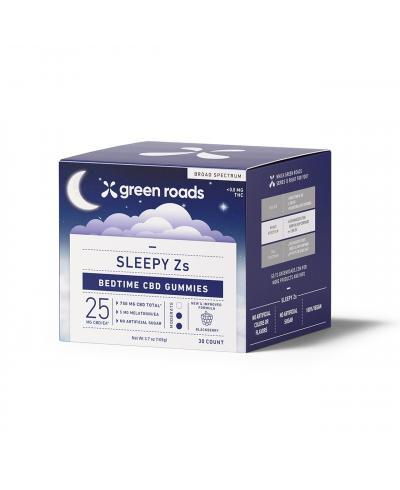 SLEEPY ZS CBD GUMMIES (30CT) - 750MG