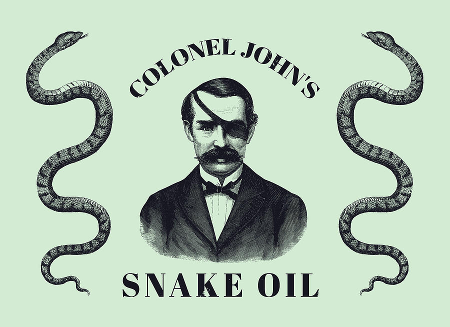 Fake Cbd oil is Snake oil