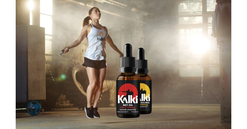 Now Available KALKI CBD Oil for Athletes