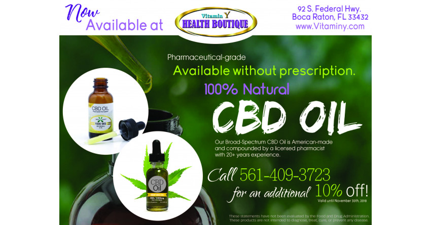 Vitaminy.com - Everything You Need To Know About The Health Benefits of CBD Oil.