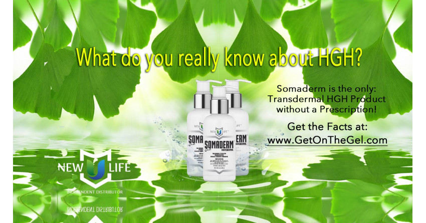 Vitaminy.com - SOMADERM HGH Gel is now available without prescription.