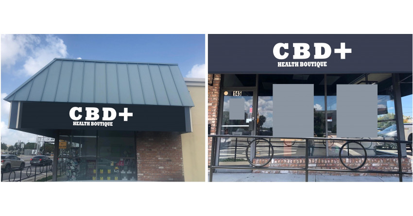 CBD + Health Boutique moved to new location.