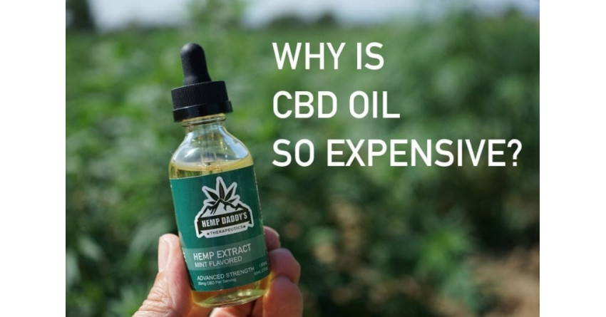 WHY IS CBD OIL SO EXPENSIVE?