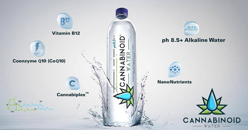 Cannabinoid Water is now available at Muscle Maker Grill of Deerfield Beach.