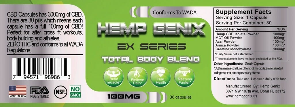 Get 25% Off on Athletes Total Body 3000 mg CBD